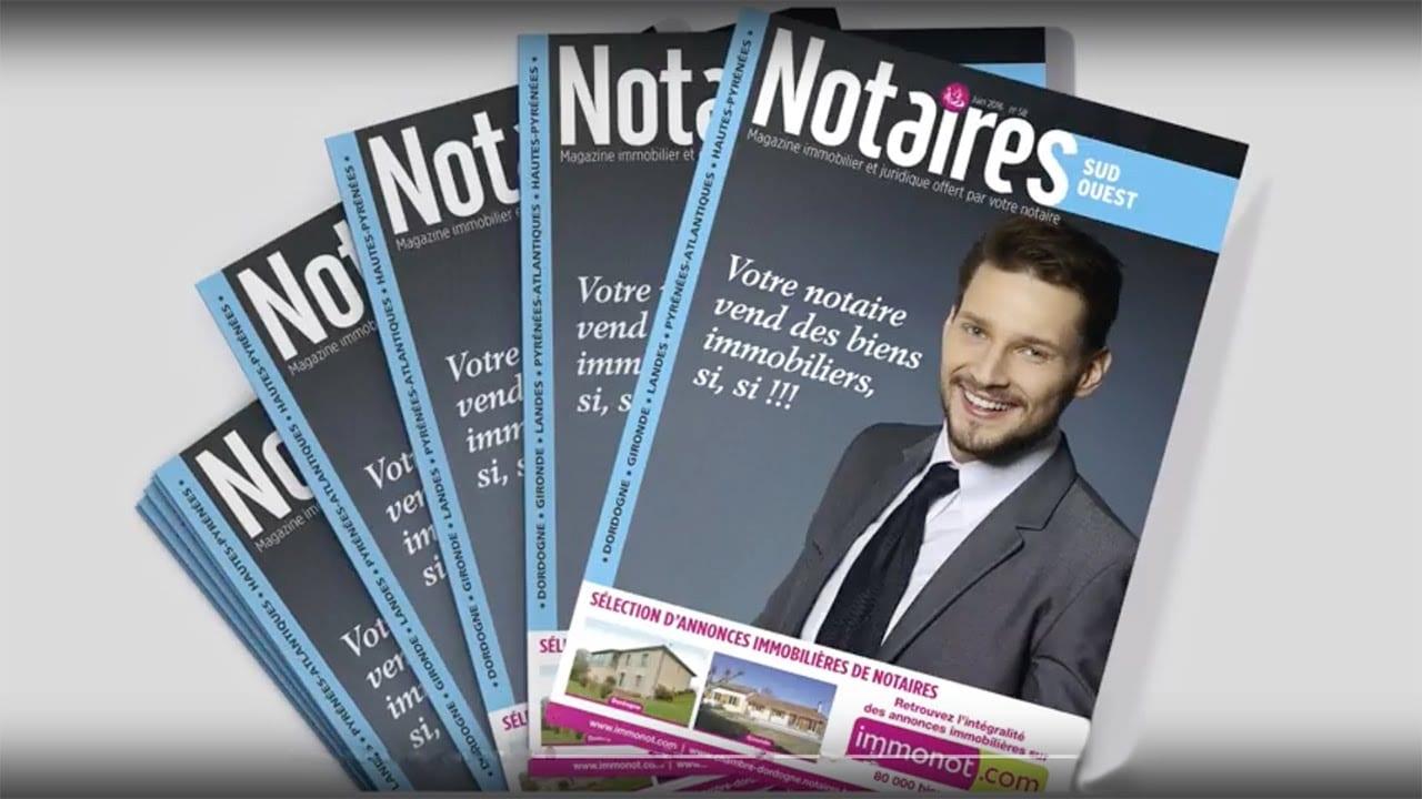 Magazines des notaires & immonot de juin
