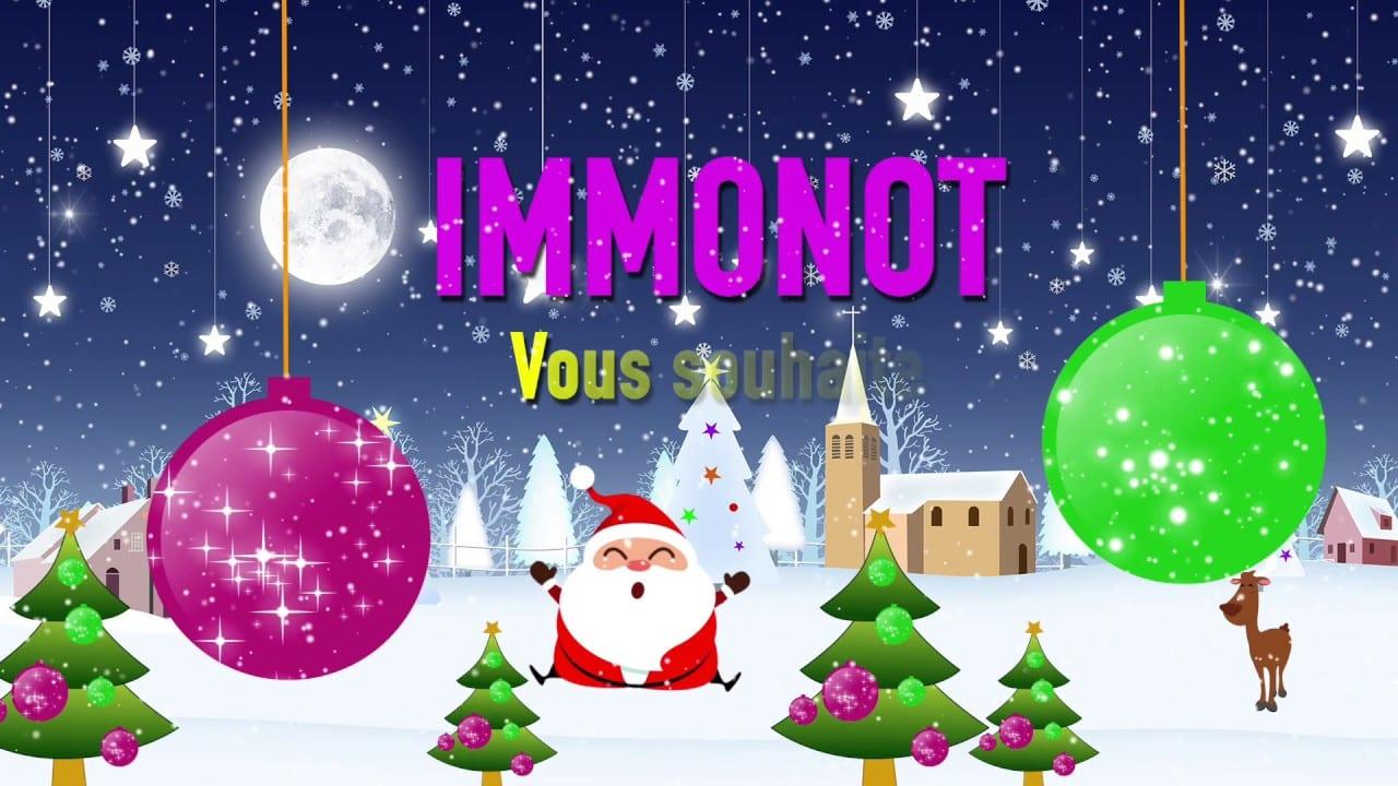 Immonot vous souhaite de joyeuses fêtes de fin d'année