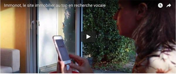 Immonot est adapté à la recherche vocale