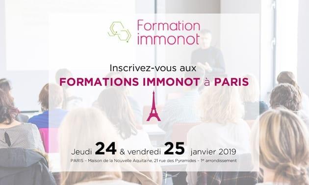 Formez-vous à Parisen janvier 2019