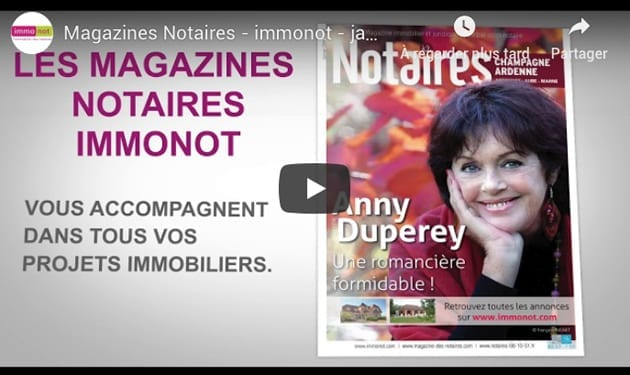 Magazines Notaires – immonot – janvier 2019
