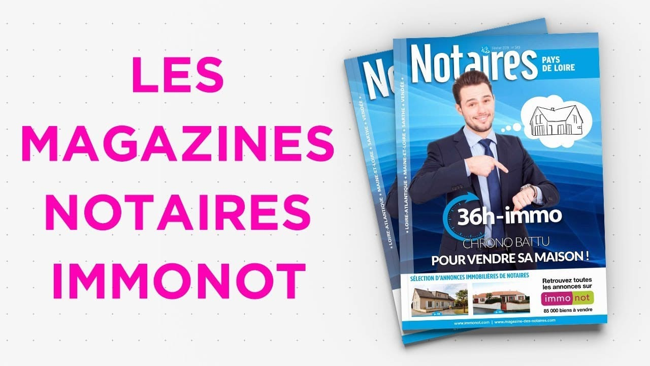 Magazines Notaires – immonot – février 2019