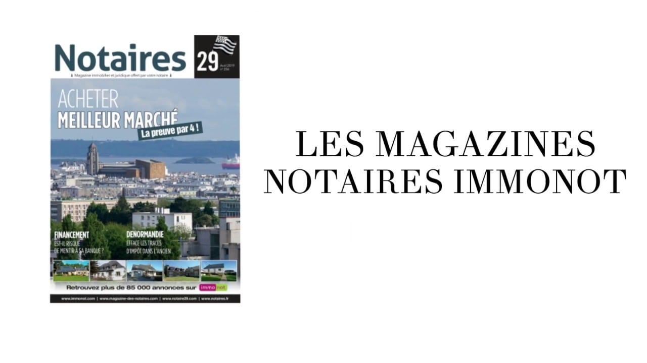 Magazines Notaires – immonot Une ligne encore plus séduisante