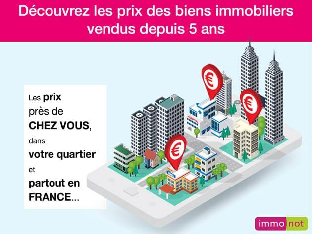 Nouveau : découvrez sur le site immonot.com les prix des biens immobiliers vendus partout en France.