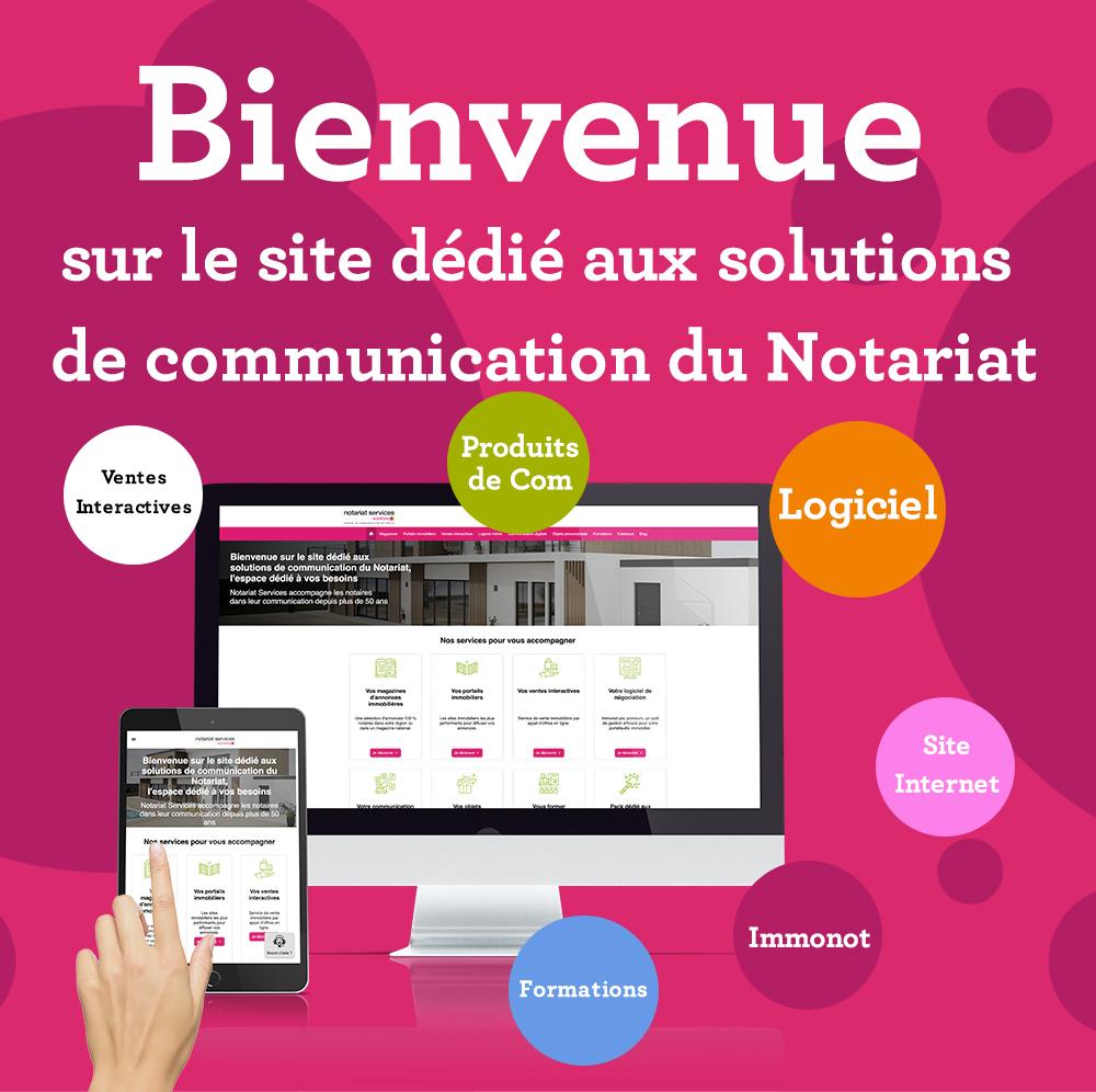 Un nouveau site dédié aux solutions du notariat