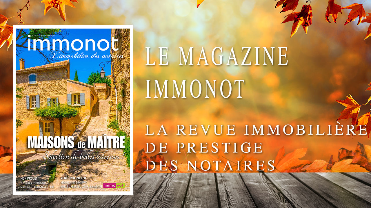 Immonot, la revue immobilière nationale 2021